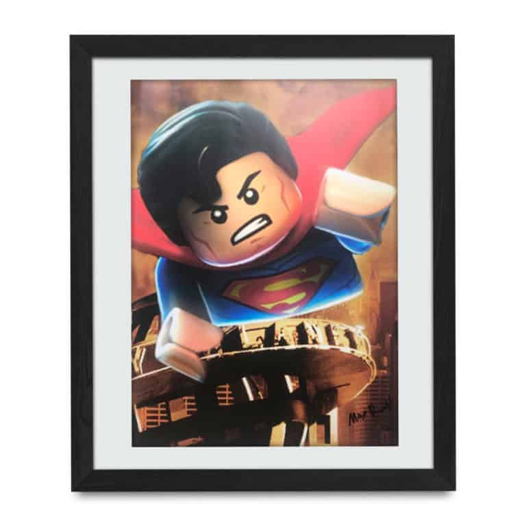 Superman Lego - Tattoo