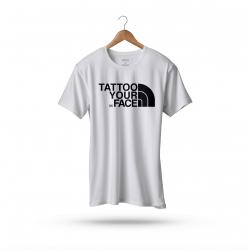 Koszulka Biała – Tattoo Your Face
